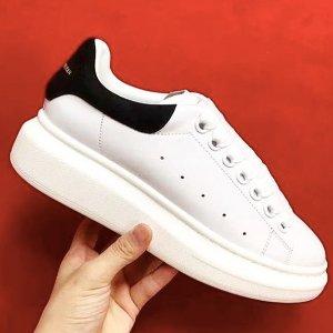 低至5折 黄尾小白鞋$356随时截止:麦昆小白鞋专场 新款厚底高帮$455 (定价$830)