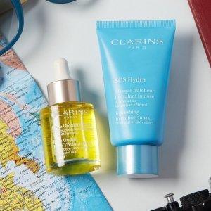 Walmart Clarins Blue Orchid Face Treatment Oil