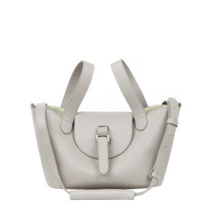 MeliMeloThela Mini | Cross Body Bag | Taupe and Apple