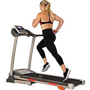 $289(原价$399)+包邮Sunny Health & Fitness 家用健身跑步机促销