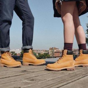 额外7折 收帅气美靴macys.com 精选Timberland 大黄靴热卖
