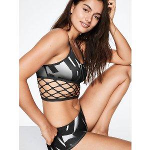c69e26be89 Victoria s SecretOnline Exclusive Cool   Comfy Fishnet Bralette - PINK - Victoria s  Secret
