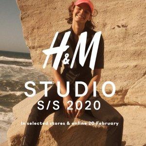 £12.99起 新款沙滩风美衣新品上市:H&M SS2020 Studio度假风设计感美衣正式开售!