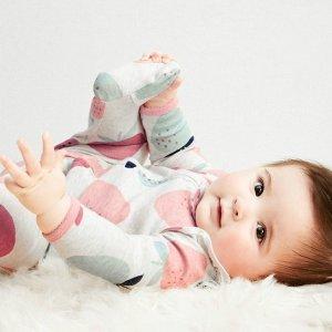 初秋四件套$11.7起Carter's 婴儿服饰低至4.5折大促,包臀衫七件$16