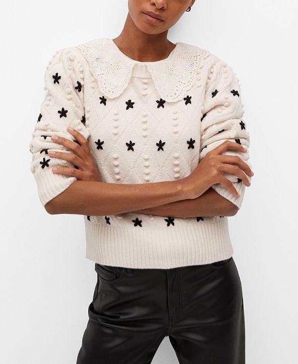 可爱针织衫