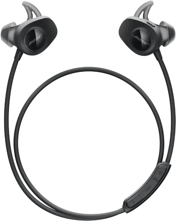 Black SoundSport 无线入耳式耳机
