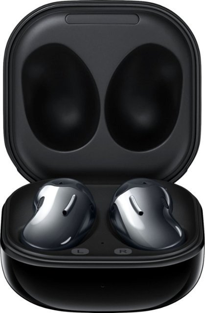 - Galaxy Buds Live True Wireless Earbud Headphones - Black