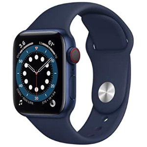 $399Apple Watch Series 6 40mm GPS + Cellular 铝制表盘