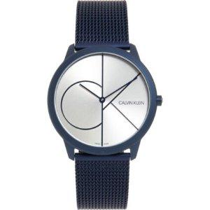 Calvin Klein海军蓝手表