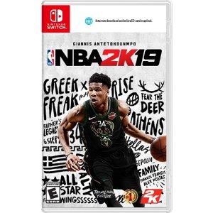NBA 2K19 Nintendo 数字版