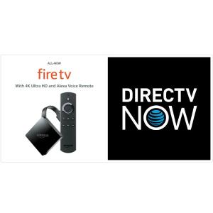$35(原价$139.99)DirecTV NOW 预付2个月 送Amazon Fire TV 4K