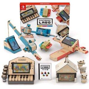 史低价:Nintendo 任天堂 Labo Toy-Con 01 纸板模块