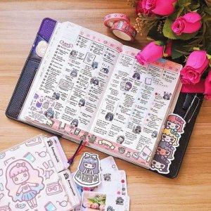 哆啦A梦手账到手价€17.45Hobo、国誉日本手账热卖 时间管理 2021也要记录美好生活