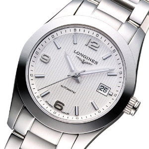 $895LONGINES Conquest Classic Automatic Silver Dial Stainless Steel Ladies Watch L22854766