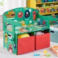 小怪兽主题3合1可转换儿童桌椅