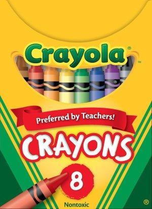 $0.99Crayola 8色儿童蜡笔