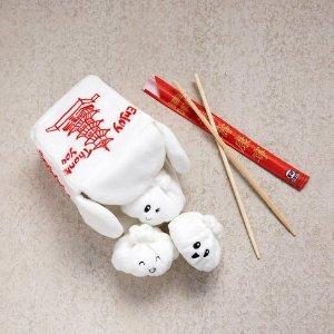 Andi's 可发声中式外卖盒子狗狗玩具