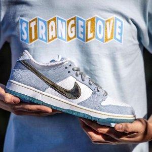 12月19日发售 定价£89.95Sean Cliver x Nike SB Dunk Low联名鞋 冰雪奇缘 确认发售
