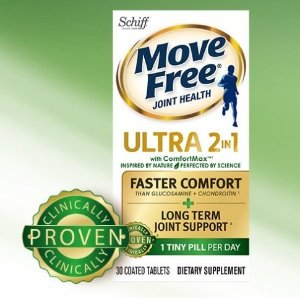 21%off by buying Move Free BundleMove Free Ultra 2in1 with Comfort Max, 60 tablets + Move Free Advanced Plus MSM, 120 tablets