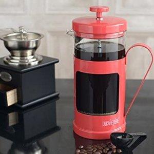仅售€23.66  最后4件La Cafetierè 高颜值粉色法压壶 1公升容量 咖啡星人必备