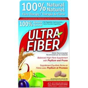 $9.46(原价$11.31)100%天然膳食纤维 63片 帮助肠道蠕 动改善便秘