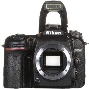 $599.99 (原价$999.99)Nikon D7500 APS-C 单反 机身 翻新