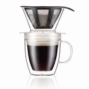 Bodum咖啡滴漏+双层玻璃杯 350 ml