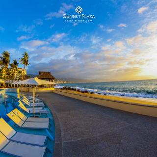 人均每晚$115起 含海景房+餐饮+娱乐墨西哥巴尔塔港 Sunset Plaza 4星级全包度假村