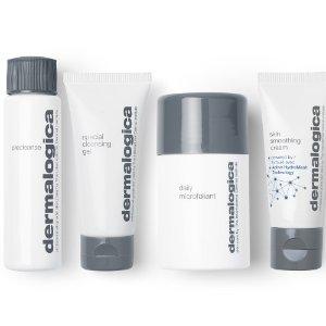 $47.82(原价$61.5)Dermalogica 明星护肤4件套 内含酵素洁颜、多维面膜