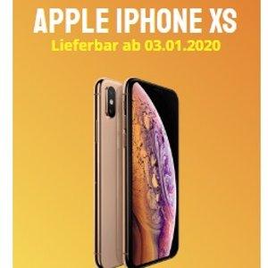流量高达每月20G,满28岁则是30GApple iPhone XS 64GB O2超值合约 预付€4.95 每月仅需€34,99