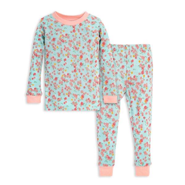 幼童有机棉分体睡衣