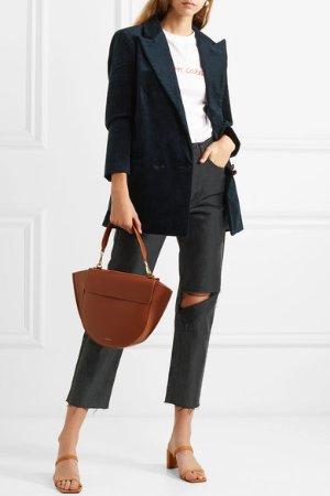 GANNI | Cotton-blend corduroy blazer  | NET-A-PORTER.COM