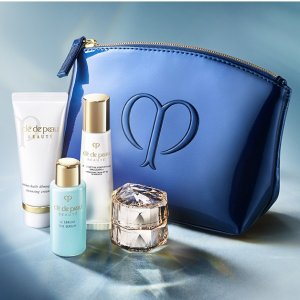 3 Piece Beauty Gift with PurchaseCle de Peau Beaute Free Bonus Gift