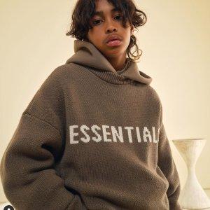 无门槛9折 £58收Essentials卫衣SSENSE 潮牌热卖 收Essentials、AMI、Palm Angels、Off White