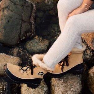 $99.98包邮 (原价$179.99) 5.5折闪购:Sorel Tivoli III 女款雪地靴 尽情踩雪 好价提前囤