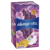 Always Radiant 液体卫生巾30个装 花香款