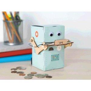kiwico吞钱币的机器人,推荐年龄 9-16+