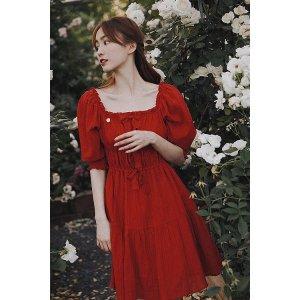 Ecru Emissaryget $25 back with $288Molifusu   Rose Lady Dress