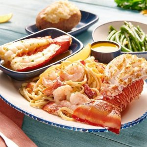 买$50礼卡额外送$10Red Lobster 礼卡买赠限时活动