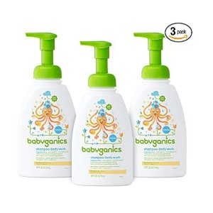$13.42Babyganics Baby Shampoo and Body Wash, Fragrance Free, 3 Pack