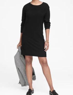 Wool-Cashmere Blend Ribbed Sweater Dress | Banana Republic