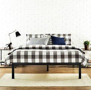 e7a2bd0fdf1aa Expired Lowest price  65 (原价 99) Zinus Modern Studio 14 Inch Platform 1500  Metal Bed Frame
