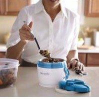$16.98(原价$34)Crock-Pot 20盎司容量电子暖锅 - 蓝色