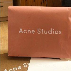 Acne Studios 专场,收多色马海毛针织,经典笑脸卫衣