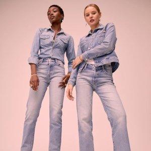低至3折 裤装$44起Mother Denim 黑五大促 廓形牛仔外套、修身牛仔裙$97