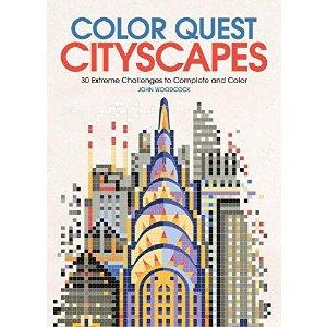 色彩探索:城市风光