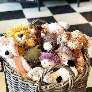 低至5折 €18收大富翁Selfridges 玩具专场热卖 收Jellycat、乐高、圣诞礼盒