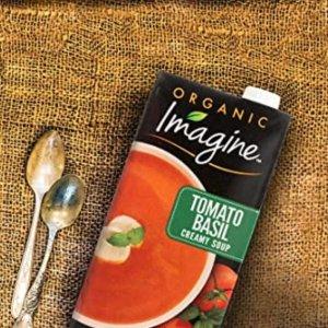 Imagine Organic Creamy Soup, Tomato Basil, 32 oz.