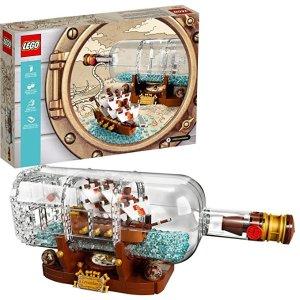 LegoIdeas系列 瓶中船 - 92177