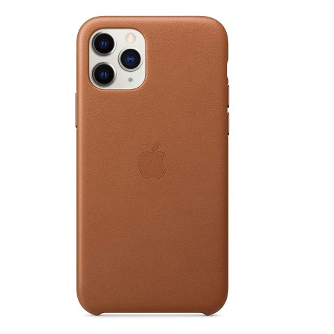 Apple Leather Case for iPhone 11 Pro Saddle Brown